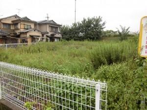 東京の不動産会社様より、草津市内にご所有される土地の草刈りのご依頼をいただきました。