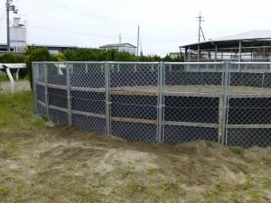 東近江市の競走馬保養施設様より、フェンス修理のご依頼をいただきました。