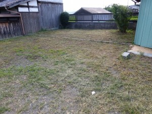 大津市内のお客様より、草刈りのご依頼をいただきました。