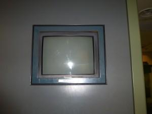 博物館の展示物紹介用ブラウン管テレビを更新しました