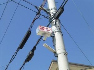 野洲市の自治会様より、監視カメラ設置のご依頼をいただきました