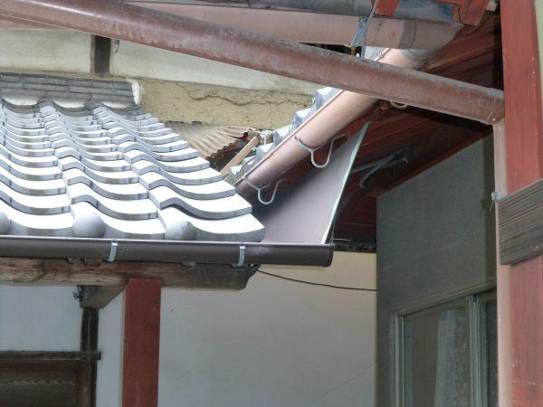 雨樋の修理、波板の張替のご依頼をいただきました。