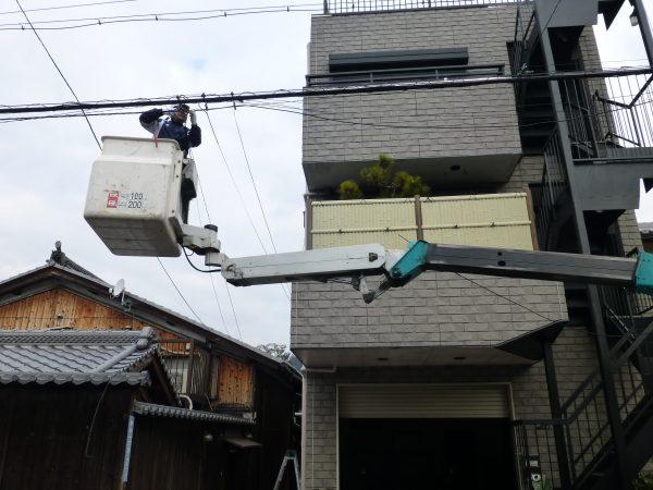 テレビ共聴設備撤去工事のご依頼をいただきました。
