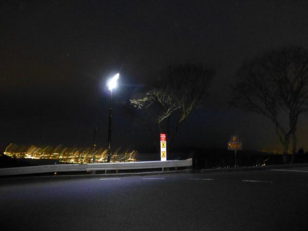 古くなった街灯を撤去し新しく設置させていただきました。