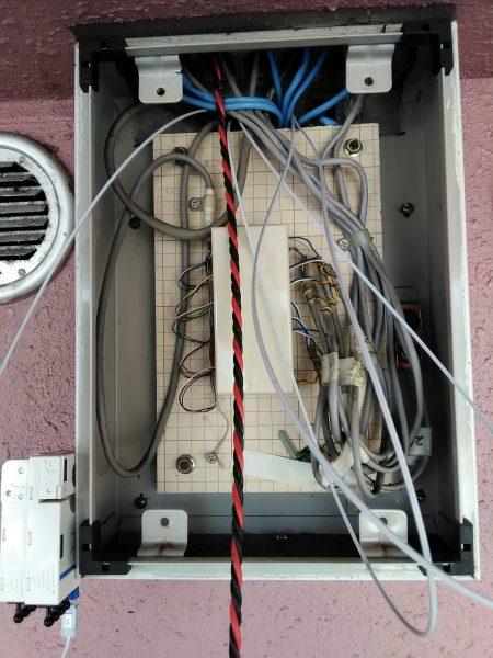 LANケーブル配線のご依頼をいただきました。
