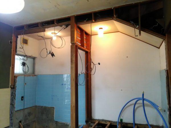 電気工事のご依頼をいただきました。
