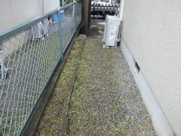 空き家の除草と剪定のご依頼をいただきました。