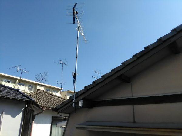 テレビアンテナ工事のご依頼をいただきました。