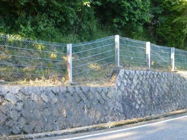 防護柵内除草のご依頼をいただきました。