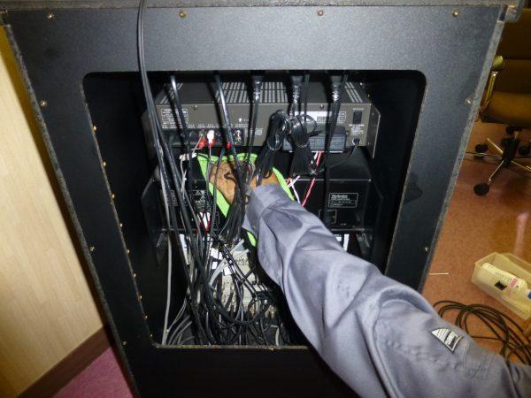 放送設備の点検のご依頼をいただきました。