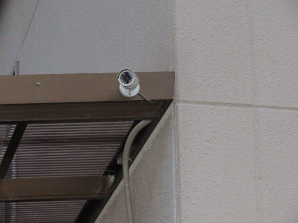 防犯カメラの取付のご依頼をいただきました。