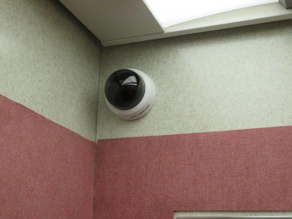 防犯カメラ取付のご依頼をいただきました。