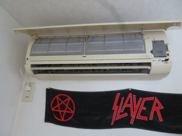 エアコンの取替をさせていただきました。