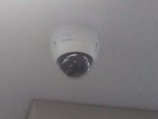 防犯カメラの追加設置のご依頼をいただきました。