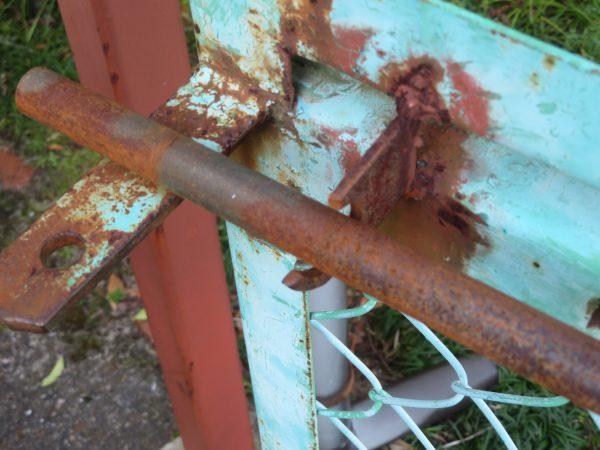 フェンスの修理のご依頼をいただきました。