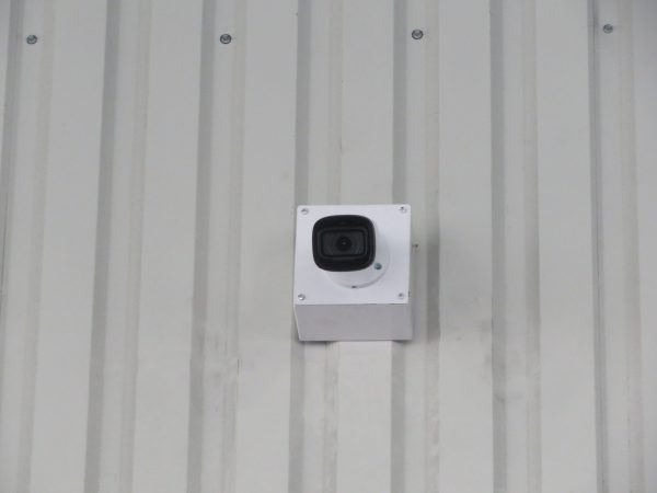 監視カメラ設置のご依頼をいただきました。