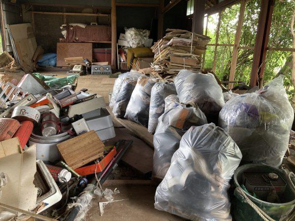 空き家の解体をさせていただきました。