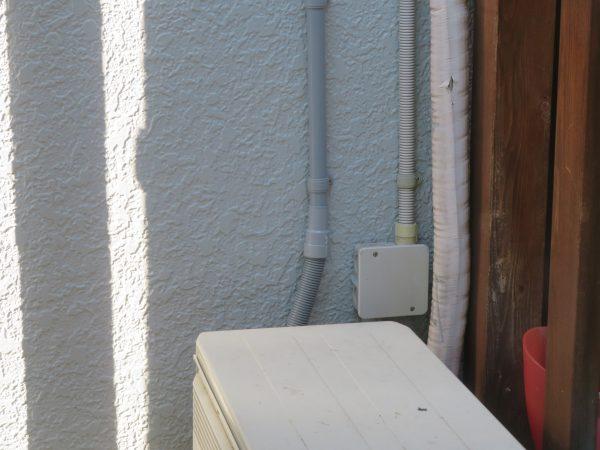 通信設備の配管工事をさせていただきました。
