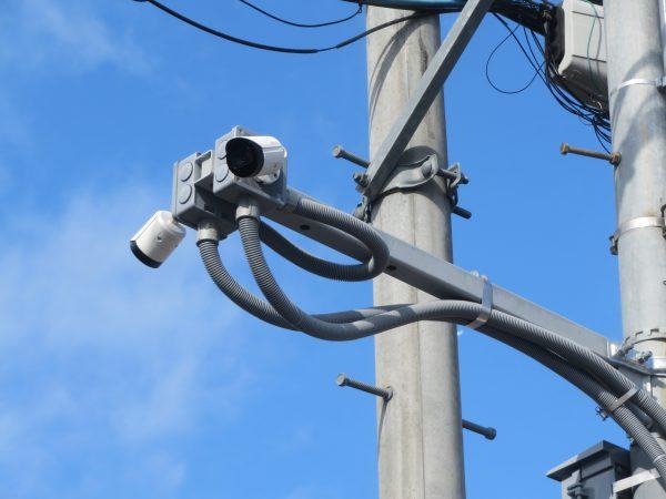 自治会様に防犯カメラを設置させていただきました。