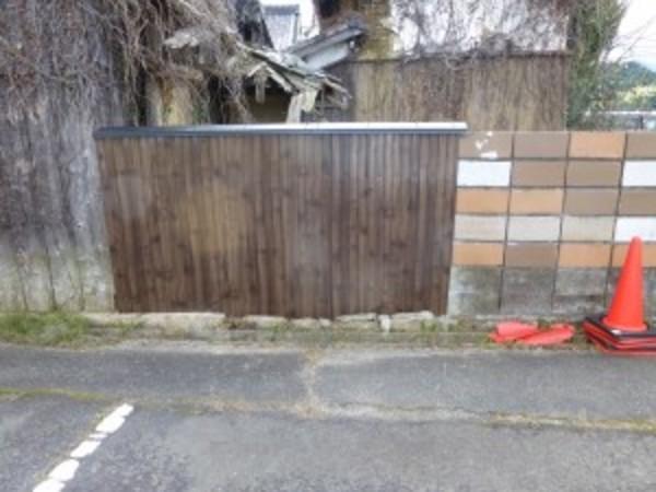 塀の修理工事のご依頼をいただきました。
