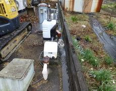 工事受付センター移転作業 Part4井戸ポンプが動いた!