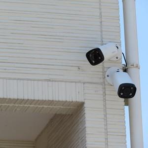 防犯カメラの設置のご依頼をいただきました
