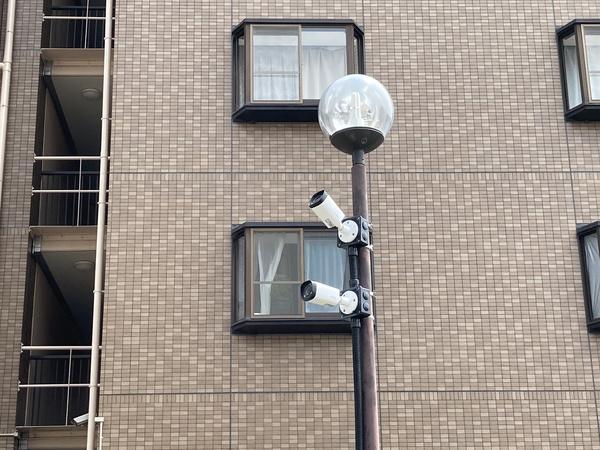 防犯カメラの設置をさせていただきました。