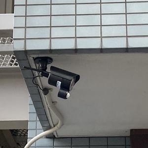防犯カメラ設置のご依頼をいただきました。